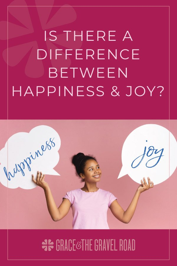 What's the difference between happiness and joy?