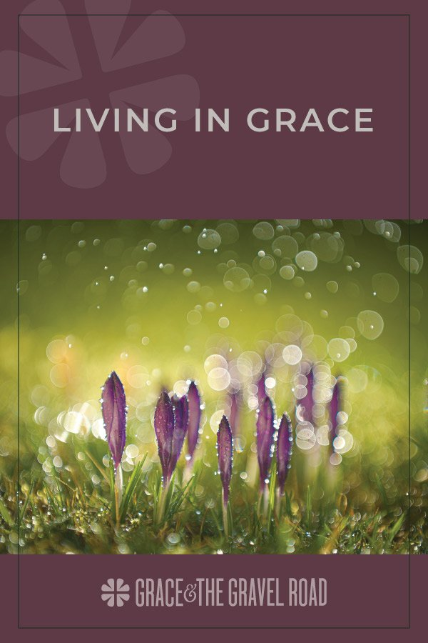 Living in grace pin